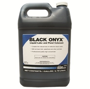 Picture of Black Onyx Liquid Lake and Pond Colorant, BASF