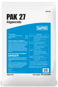 Picture of PAK 27 Granular Algaecide, OMRI Listed, SePRO